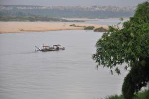 The River Niger, from Asaba