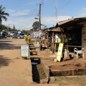 A typical Asaba street