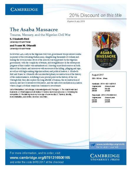 The Asaba Massacre_Flyer