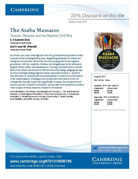 The Asaba Massacre_Flyer