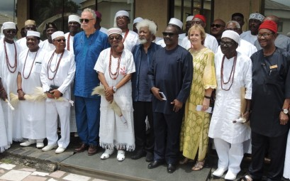 Group with Soyinka
